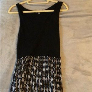 Black Patterned Daisy Fuentes Maxi Size L - Kohl's